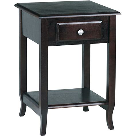 walmart furniture end tables merlot end table walmart com