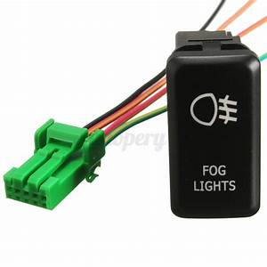 2007 Hilux Spotlight Wiring Diagram : 12v led fog work light push button switch for toyota ~ A.2002-acura-tl-radio.info Haus und Dekorationen