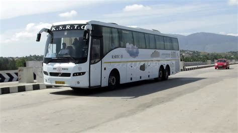 ksrtc airavat bliss volvo bus service youtube