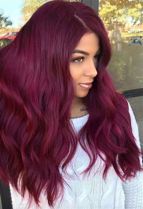 yummy burgundy hair color ideas burgundy hair dye