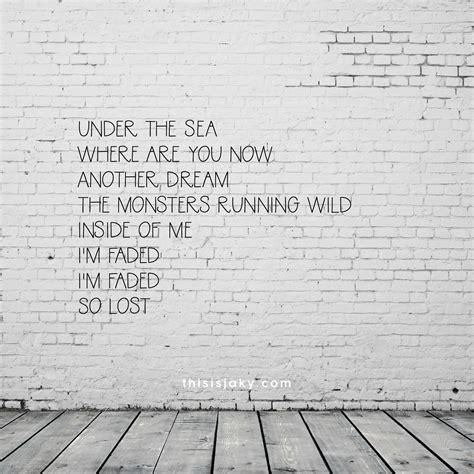 walker alan quotes song lyrics lyric thisisjaky sea