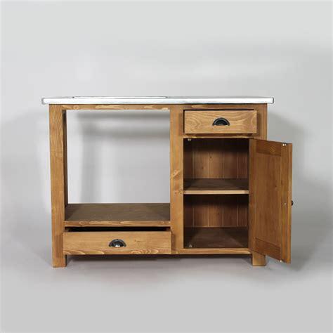 meuble de cuisine ind endant meuble de cuisine en bois pour four et plaques cagne