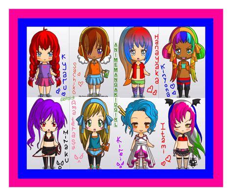 anime chibi maker image gallery instagram chibi templates maker