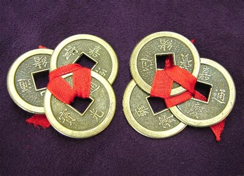 Feng Shui Chinese Coins Tie In Red Thread