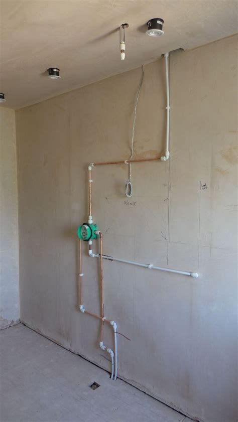 concealed shower fittings style