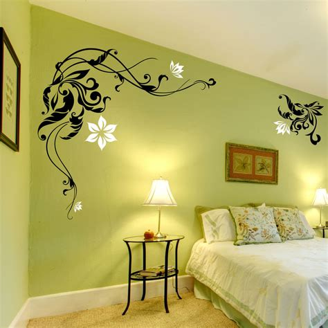 Large Flower Wall Stickers  Wall Decals  Wall Graphic Ebay