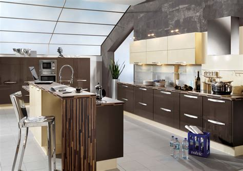 primo terra high gloss kitchen design stylehomesnet