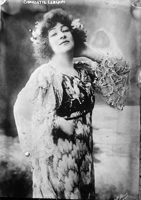 Georgette Leblanc - Wikipedia