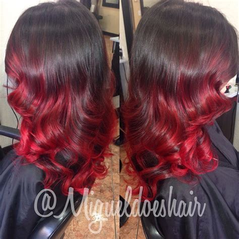 hottest ombre hairstyles  trendy ombre hair color