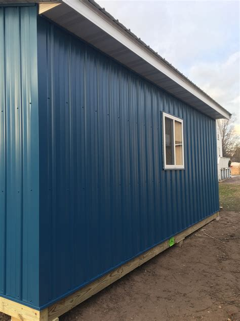 Builders Shed by Maintenance Free Sheds Premium Pole Building And Storage