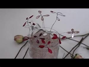 Basteln Draht Weihnachten : diy nagellackblumen aus draht basteln youtube ~ Whattoseeinmadrid.com Haus und Dekorationen