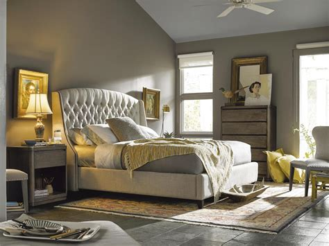 universal furniture curated halston king bed