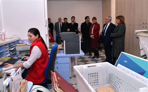 gramaglia visite le bureau de poste de la place des moulins r 233 nov 233