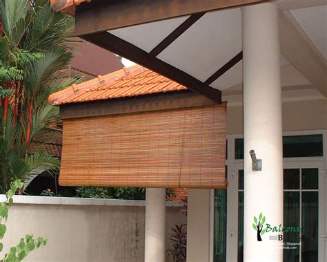 bamboo porch shades outdoor bamboo blinds gallery balconyblinds