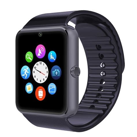 smartwatch support sim card gt08 smart clock sync notifier support sim card