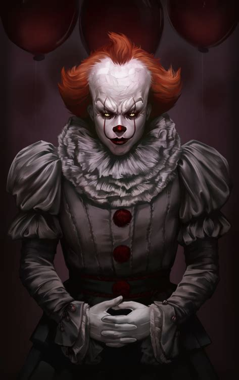Background Digital Pennywise Clown Pennywise Wallpaper by Pennywise 2017 Fan