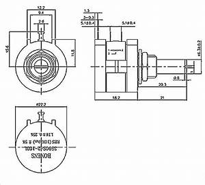 3590s precision 10 turns wirewound potentiometer with With details about pushpull switched potentiometer 500k ohm linear