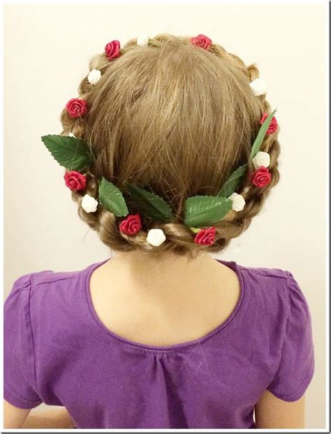 20 easy christmas hairstyles for little girls