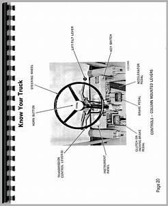 Clark C500 Ys80 Forklift Operators Manual