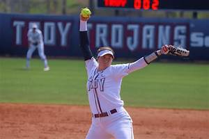 Annie Willis Softball Troy University Athletics