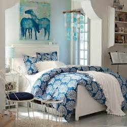 Teens Girls Blue Bedrooms Ideas