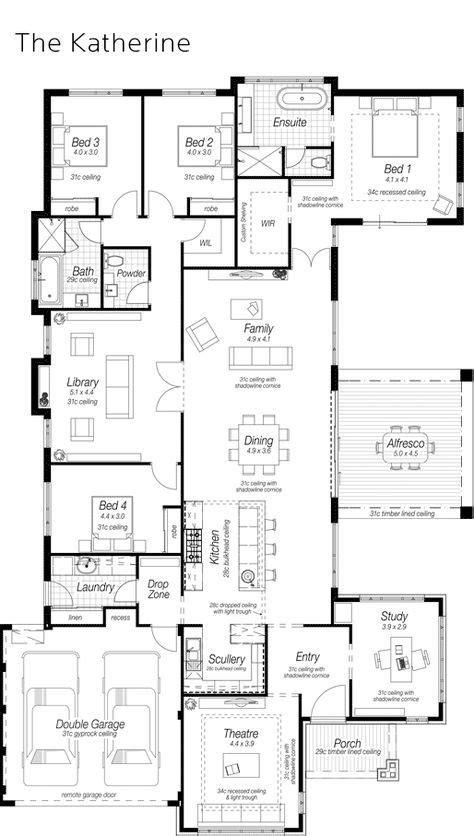floor plans images  pinterest architecture