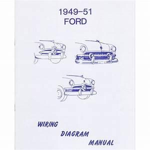 Book - Wiring Diagram Manual - 1949-51 Ford Car