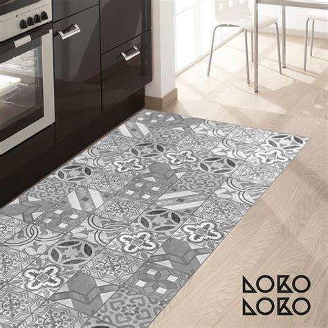 mosaico de baldosas hidraulicas  vinilo  suelos