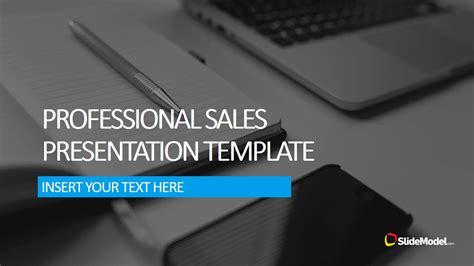 professional sales  template slidemodel