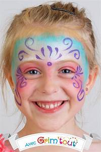 Maquillage Simple Enfant : carnaval tuto maquillage princesse ~ Melissatoandfro.com Idées de Décoration