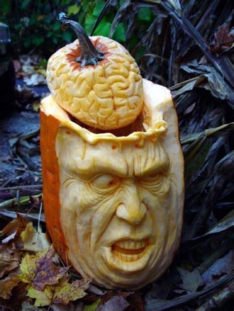 awesome carved pumpkin amazing pumpkin carvings by ray villafane wearekoalas