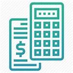 Total Icon Grand Summary Accounting Calculator Calculate