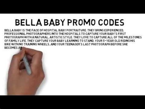 bella baby promo code    coupon discount youtube