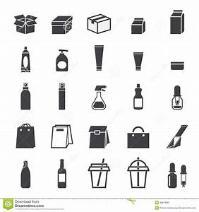 Packaging Icon Set Stock Vector Image 48618581