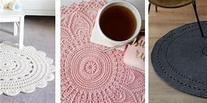Tapis En Crochet : 7 diy pour faire un tapis d int rieur au crochet marie claire ~ Teatrodelosmanantiales.com Idées de Décoration