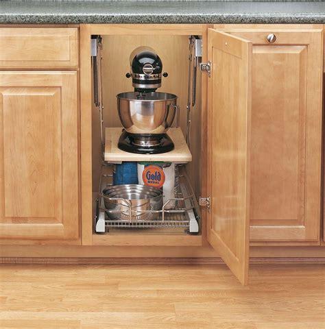 kitchen cabinet mixer lift heavy duty mixer lift or appliance lift ras ml hdcr