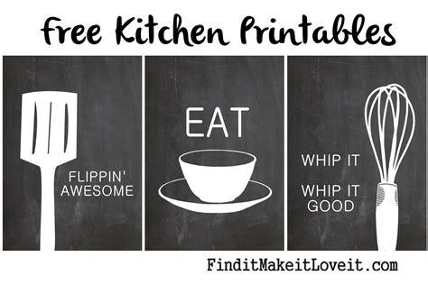 free kitchen printables free kitchen printables find it make it it
