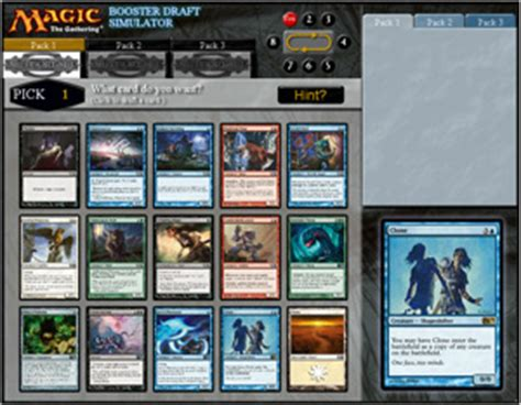 draft simulator 3 17 2014 magic the gathering