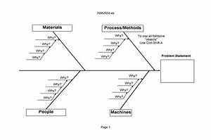 47 Great Fishbone Diagram Templates  U0026 Examples  Word  Excel