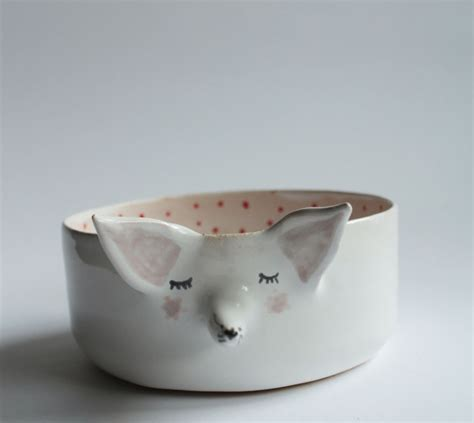 adorable animal ceramics  polish artist clay opera