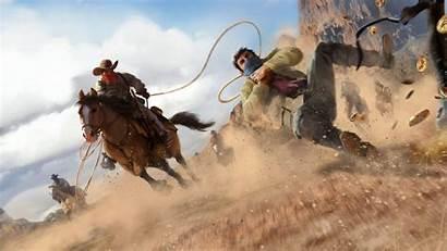 Dead Redemption Pc Rdr2 Fanart Cowboy Wallpapers
