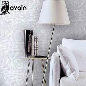 Faux crocodile skin leather modern pattern Wallpaper for ...