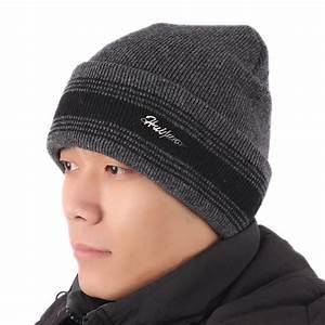 Modern men winter hats