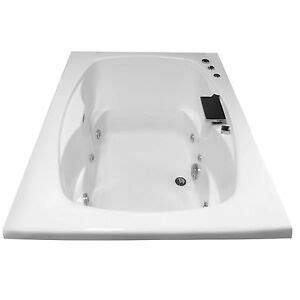 60 x 36 whirlpool tub carver tubs ar6042 60 quot x 42 quot drop in center drain white 6