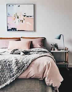 Deco Couleur Cuivre : 1001 conseils et id es pour une chambre en rose et gris ~ Teatrodelosmanantiales.com Idées de Décoration
