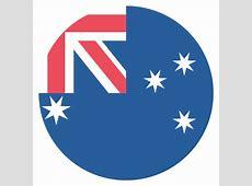 Australia Flag Vector Emoji Icon Free Download Vector