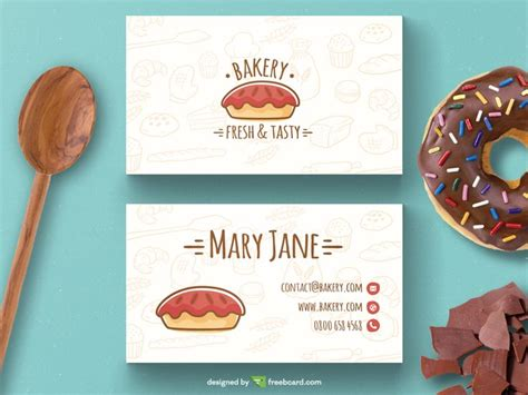 Best 25+ Bakery Business Cards Ideas On Pinterest Business Card Printing In Pune Creative Online Vanderbijlpark Digital Cd Construction Inspiration Fast Cheap Machine For Sale South Africa Visiting Red Color