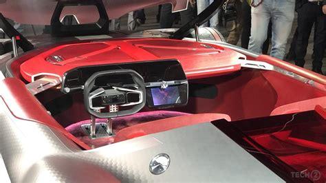 renault trezor interior auto expo 2018 the sleek renault trezor concept gives us