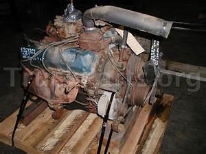 1981 Ford 370 V8 Diesel Engine  Motor  Hp  N  A  Jake  No