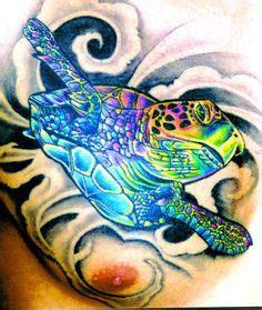 colorful turtle tattoo images turtle tattoos